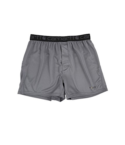 Carhartt Men's Base Force Extremes Lightweight Boxer, Shade, Small