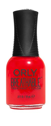 ORLY Breathable Lacquer - Treatment+Color - State of Mind Collection - Cherry Bomb - 0.6oz / 18ml