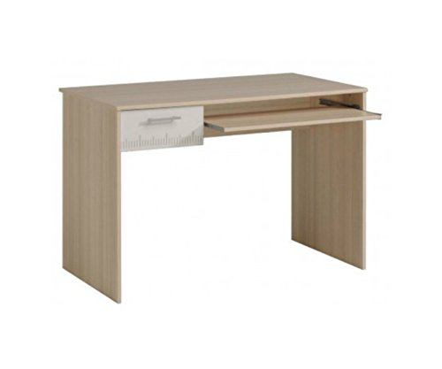 Parisot 2498bure Büro–Charly akazie hellblau/weiß Holz