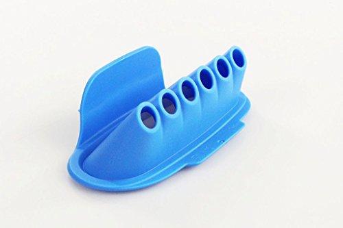 TUPPERWARE ERSATZTEIL Multipresse Einsatz für MultiPresse Gnocchi Kroketten blau