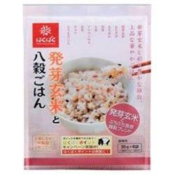 はくばく 発芽玄米と八穀ごはん 180g(30g×6)×6袋入×(2ケース)
