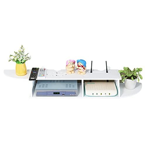 Routers Caja De Almacenamiento De Pared Decodificador De TV Caja De Blindaje De Cable Multimedia Rack De Enrutador De Ventilación para El Hogar Rack De Enrutador Inalámbrico Wi-fi