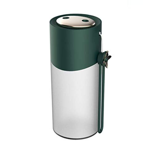 SMEJS Humidificador hogar Mute Mini Verde Oscuro Doble Boquilla purificador de humidificación en Aerosol Grande, máquina de aromaterapia portátil