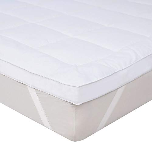 Bedecor Thick Mattress Topper 800gsm Fill Microfibre (Small Double 120 x 190/200 cm)
