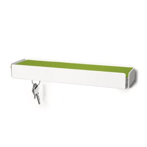 Konstantin Slawinski KEY-BOX weiß Filz grün Schlüsselbox