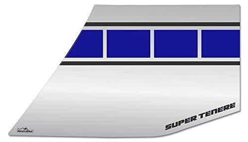 Adesivi 3d Per Marmitta Compatibili Con Yamaha Super Tenere - Race Blue
