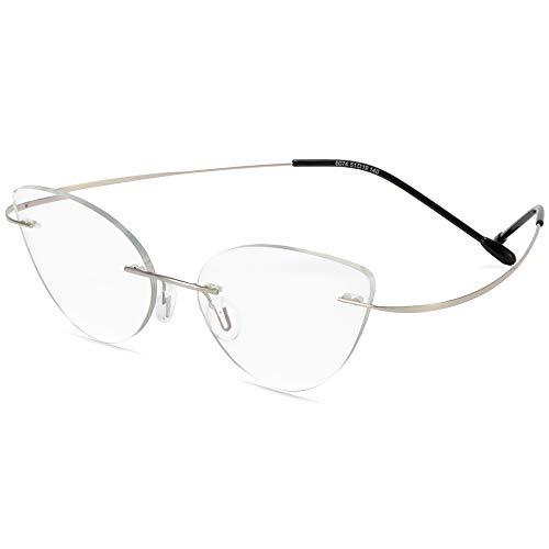 Gafas De Sol De Lectura De Transición Fotocromáticas Inteligentes Sin Marco, Aleación De Titanio Ultraligera, Presbicia, Hipermetropía, Gafas Ópticas