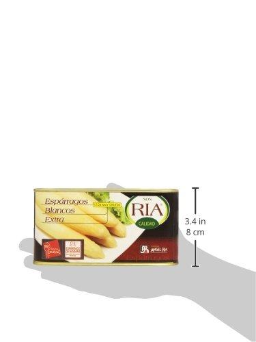 Ria - Espárarragos Blancos Extra - - 500 g