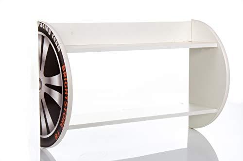 Wandregal Bücherregal Regal Kinderregal Kinderzimmer Nobiko Autokollektion Serie Auto Car Design...