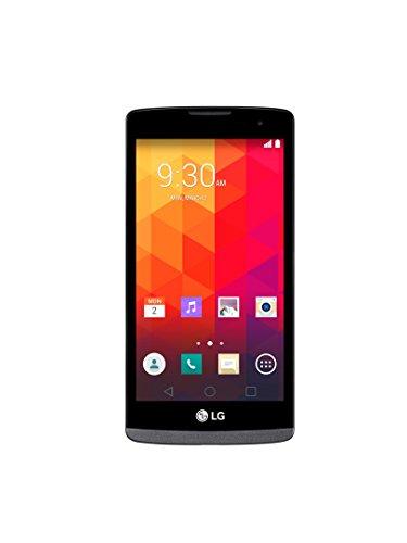 LG Leon 4G LTE H340n Black Titan Grau Android Smartphone Ohne Simlock