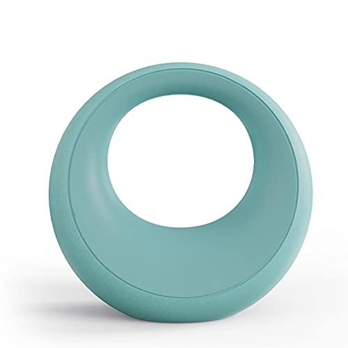 Kettlebell WXYZ ghisa Blu, manubri in Silicone Sono usati per la Formazione della Forza e Gli Esercizi aerobici per Uomini e Donne (Size : 12kg)
