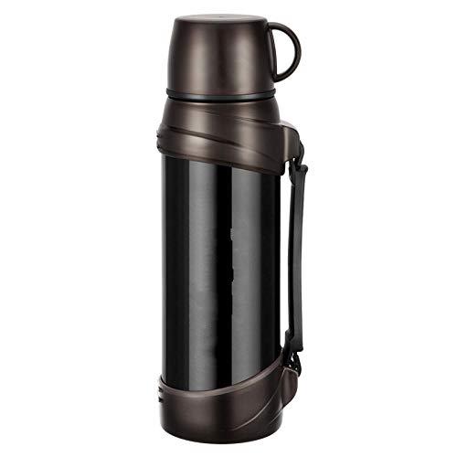 Roestvrijstalen thermoskan met grote capaciteit Kop Koffie Thee Melk Reisbeker Thermo Waterfles Thermocup