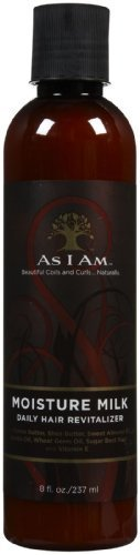 As I Am Moisture Milk Daily Hair Revitalizer, 8 Ounce by As I Am [Beauty] (English Manual)