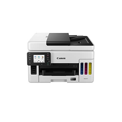 Canon MAXIFY GX6050 - Eco-Friendly and cost-conscious compact 3-in-1...