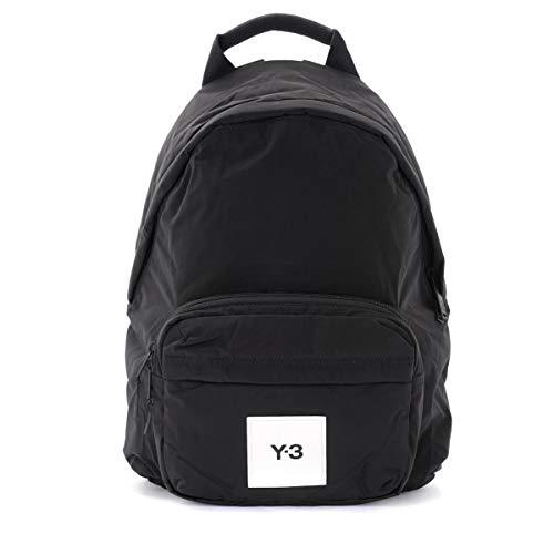 adidas Y-3 Rucksack Tchlt Tweack in schwarzer Textilie