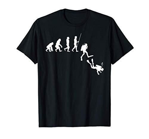 Evolución del buceo | Desarrollo Humano Regalo de los buz Camiseta