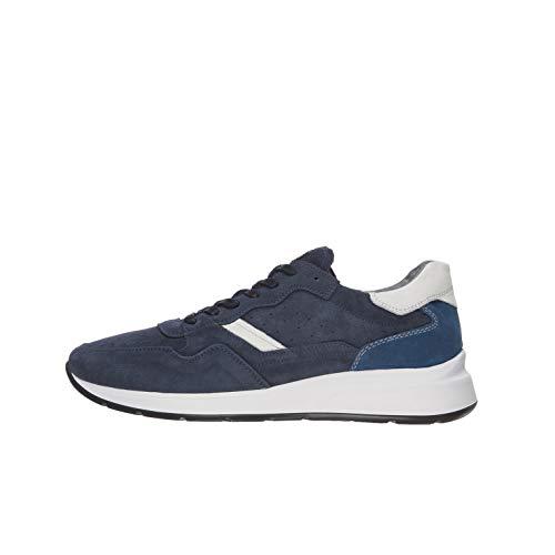 Nero Giardini E001491U Sneakers Uomo in Pelle E Camoscio - Incanto 43 EU