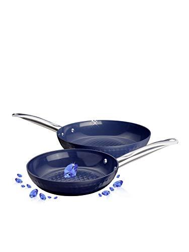 Unisex 2tlg. Hochrand-Pfannenset 'Ceraflon Diamant Prestige', Ø 20 & 26 cm Backofengeeignet HSP Hanseshopping