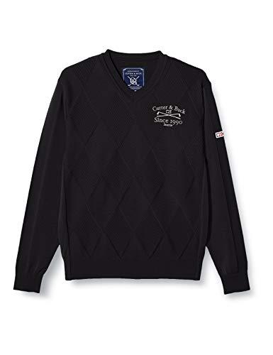 [カッターアンドバック] セーター CGMMJL02 メンズ ブラック 日本 M (日本サイズM相当)