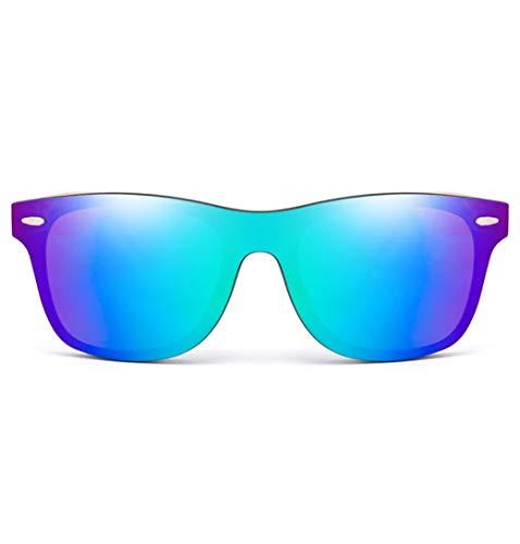 WOO LANDO Gafas de sol con patillas de bambú, protección UV400