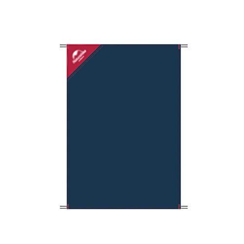 JDKC Lona Lona Multiusos para Acampar Al Aire Libre, Manta de Picnic Impermeable, Estera de Playa Sin Arena Tarp (Color : Blue, Size : 145x100cm)