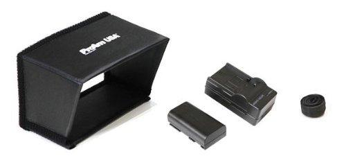 ProAm USA DVC210 DSLR Video Camera Jib Crane Tilt Kit, 8 ft Including Stand, Carrying Bag, LCD Monitor and Sunshade