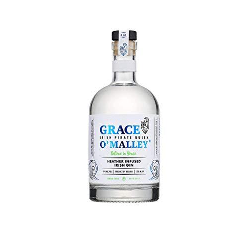 Grace O'Malley Heather Infused Irish Gin mit Heidekraut (1 x 0,7 L)