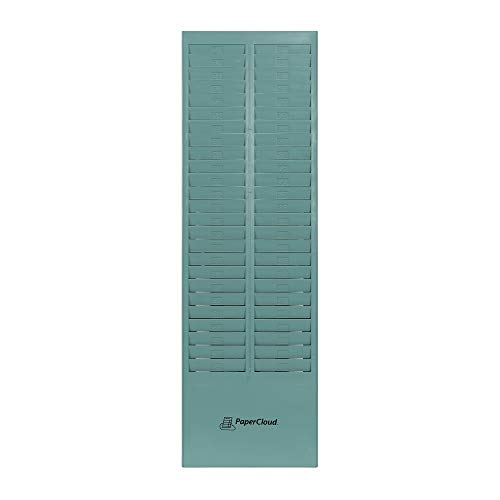 PaperCloud Time Card Rack - 50 Slot