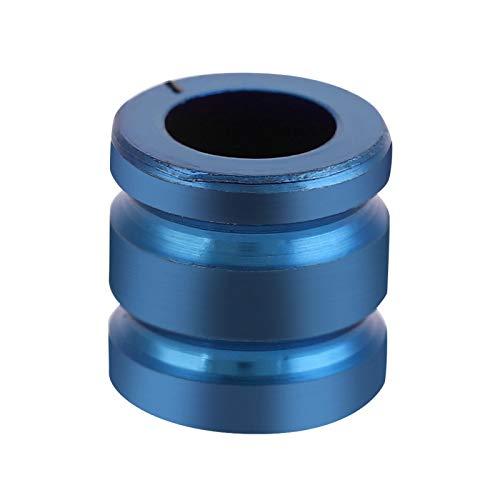 Shipenophy TC4 Aleación de Titanio Cuchillo Bead TC4 Cordón Paracord Cuerda Colgante Exterior EDC Colgante Cuentas para Pulsera(Blue)