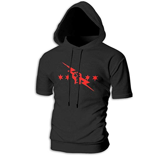 Camisas y Camisetas atléticas Top y Blusa, Mens Short Sleeve Hoodies cm Punk Best in The World Cotton Casual Sportstyle T-Shirt Tops
