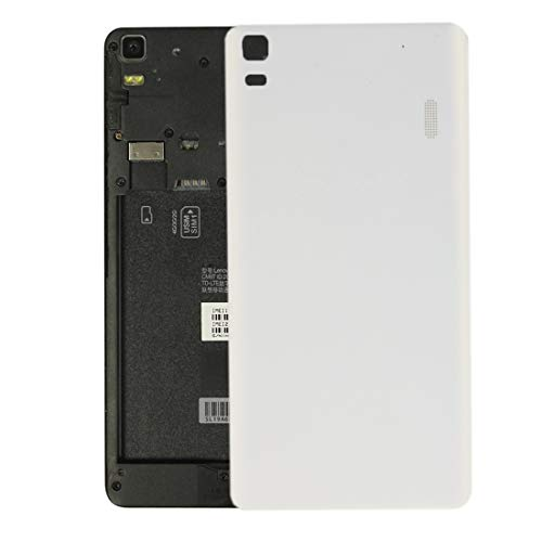 DDCM AYDD para Lenovo K3 Note / K50-T5 / A7000 Turbo Battery Cover (Negro) (Color : White)