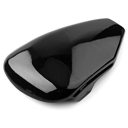 Mszhang Cubierta de carenado Lateral de la batería Izquierda de la Motocicleta/Ajuste para Harley Davidson Sportster 883 1200 XL883 XL1200 2004-2013 (Color : Black)