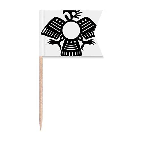 """Beauty Gift Antikes Ã""""gypten Abstraktes Eagle Pattern Markierung für die Kennzeichnung von Zahnstocher-Flaggen"""