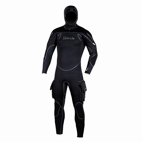 Hollis Scuba Diving Neotek Mens Semi-Drysuit - Extra Large