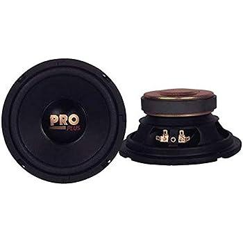 "Pyramid W64 6.5"" 400W Car Audio Midrange/Mid Bass Poly Woofers Speakers"