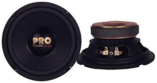 Pyramid W64 6.5' 400W Car Audio Midrange/Mid Bass Poly Woofers Speakers
