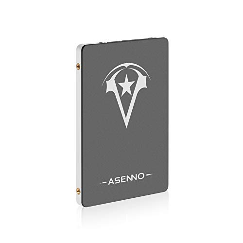 ASENNO 120GB 128GB 2,5 Zoll SSD SATAIII 6 GB/s Interne Solid State Festplatte für Notebook Tablet Desktop PC