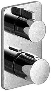 Villeroy & Boch Cult concealed thermostat with two-way volume control matt black 36426960 Black matt