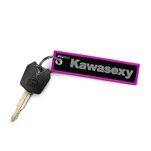 Premium Quality Key Tag for Snowmobile KEYTAILS Keychains Snowmobile - Heartbeat Sled