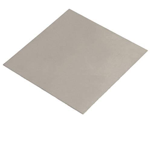 0.8mm x 200mm x 200mm Titanium Plate Ti Titan TC4 Gr5 Plate Sheet Foil