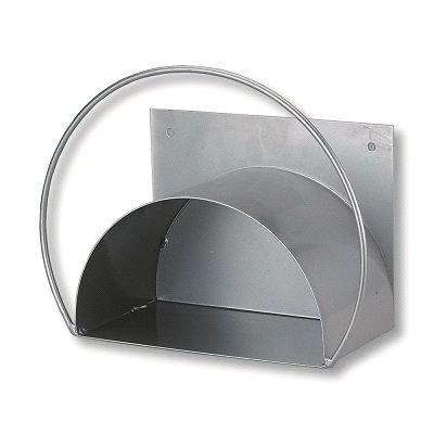 Caleido-Concept Wandschlauchhalter Schlauchhalter Profi Metall Silber stabil