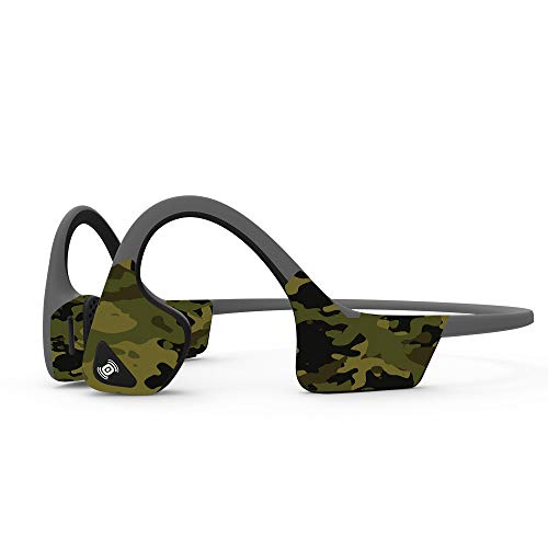 MightySkins Skin Compatible with Aftershokz Trekz Air Wireless - Green Camouflage | Protective, Durable, and Unique Vinyl Decal wrap Cover | Easy to Apply, Remove, and Change Styles | Made in The USA