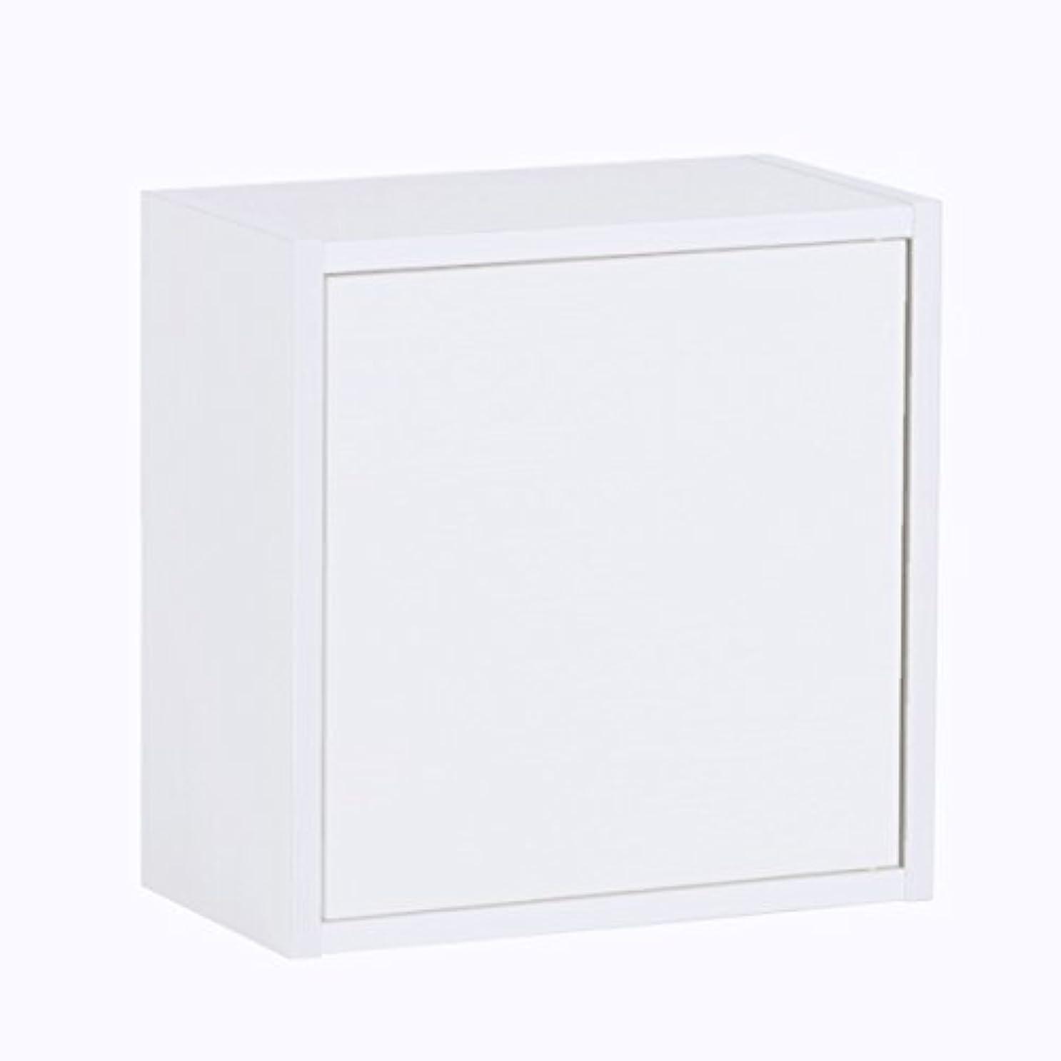 アヒルウィスキー考古学的なarne ウォールシェルフ 幅40 奥行21 高さ40 おしゃれ 北欧 石膏ボード 玄関 壁掛け 棚 戸棚 キッチン 飾り棚 WallBox ホワイト