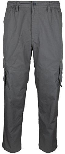 SOUNON Herren Cargohose, Cargo Pants, Chino Hose - Anthrazit (622), Groesse: 5XL