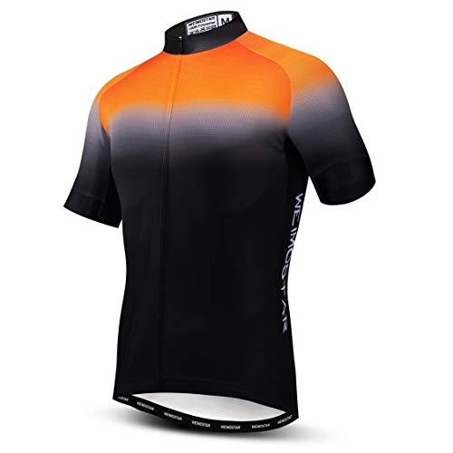 Weimostar - Maillot de ciclismo para hombre, camiseta de ciclismo para verano,...