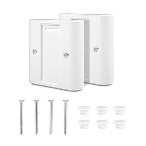 Tikola Lichtschalter Abdeckung für Dimmer, Wandschalterabdeckung, intelligente kabellose Dimmschalter-Abdeckplatte für EU-Standard-Schalteradapterkonverter-2 Packungen