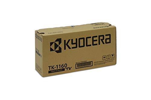 Kyocera TK-1160 Original Toner-Kartusche Schwarz 1T02RY0NL0. Kompatibel für ECOSYS P2040dn, ECOSYS P2040dw