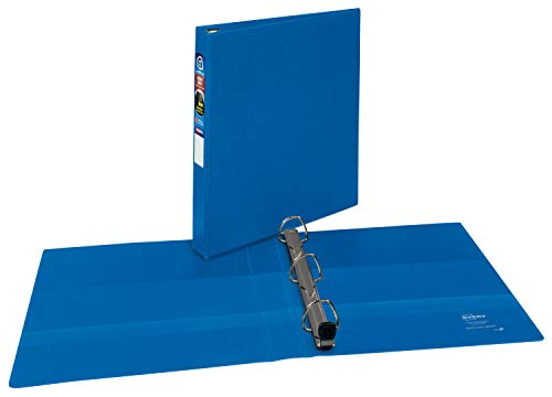 AVERY Heavy-Duty Binder with 1 Inch One Touch EZD Ring, Blue, 1 Binder (79889)