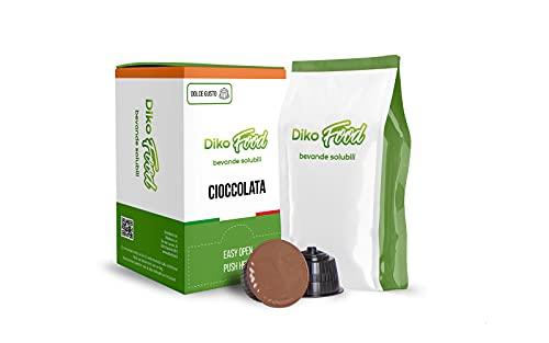 48 Capsule Dolce Gusto Compatibili Gusto Cioccolata Dikofood