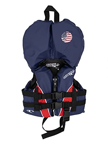 O'Neill Superlite USCG Nylon Infant Life Vest Patriotic